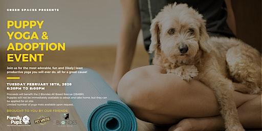 Puppy Yoga & Adoption Event (18+ Event)