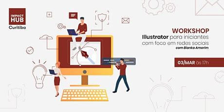 Workshop de Illustrator para iniciantes  ingressos
