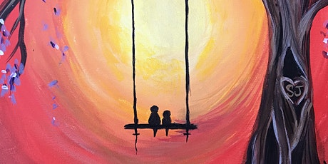 PAINT AND SIP- LOVEBIRDS ON A SWING tickets