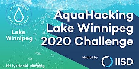 Brandon University AquaHacking Lake Winnipeg Info Session tickets