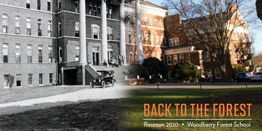 Woodberry Forest Reunion Weekend 2020 | 1945-1970 Registration