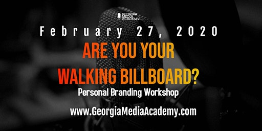 Are You Your Walking Billboard? Personal Branding Workshop