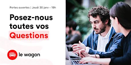 Session d'information le wagon Lyon - Jeudi 30 janvier billets