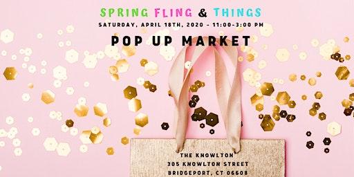 Spring Fling & Things Pop Up Market