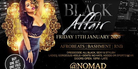 ALL BLACK AFFAIR - FRI 17TH JAN tickets