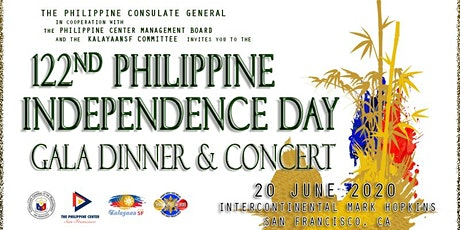 122nd Philippine Independence Day Gala Dinner and Concert tickets