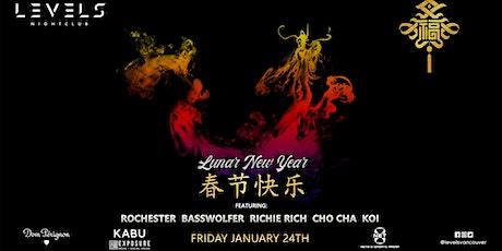 Lunar New Year 2020 at Levels Nightclub tickets