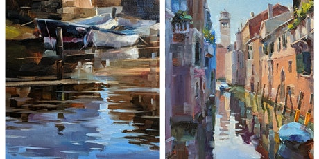 Art Workshop: Paint Beautiful Maritime Scenes in Oil with JJ Jiang tickets