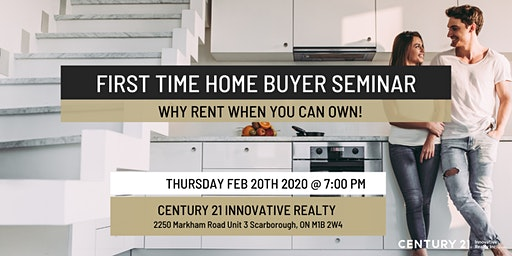 First Time Home Buying Seminar - Government Incentives
