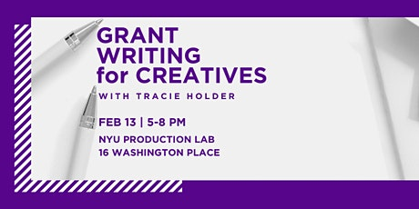 Grant Writing for Creatives tickets