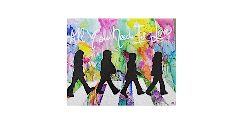 All You Need is Love |Adult Paint N' Sip|$25-$30