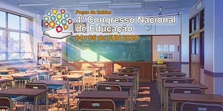 Congresso Nacional de Educação de Poços de Caldas bilhetes
