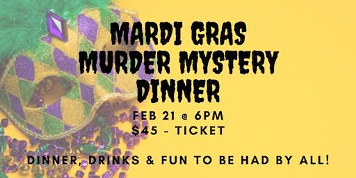 Mardi Gras Murder Mystery Dinner