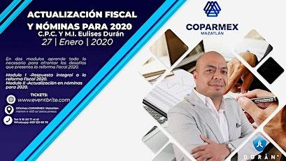 Taller Actualización Fiscal y Nóminas para 2020 entradas