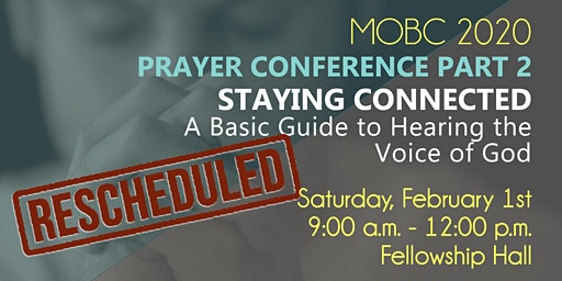 2020 Prayer Conference: Hearing the Voice of God
