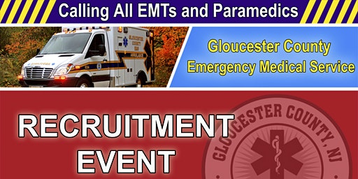 Gloucester County EMS - Recruitment Event