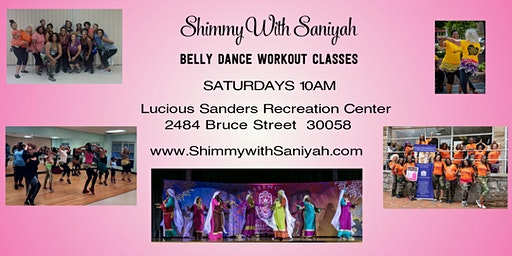 Shimmy with Saniyah Belly Dance Workout Classes