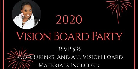 Step Into Your Vision; Vision Board Party tickets
