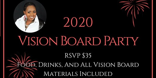 Step Into Your Vision; Vision Board Party