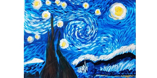 1/28 - Van Gogh's Starry Night @ Vinifera Wine Bar & Bistro, Auburn