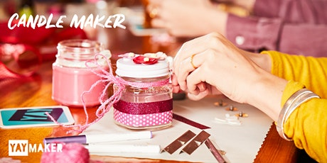 Custom Candle Making and Sip Party tickets