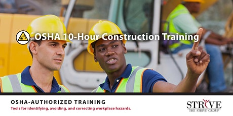 OSHA 10 - Hour Construction Training  tickets