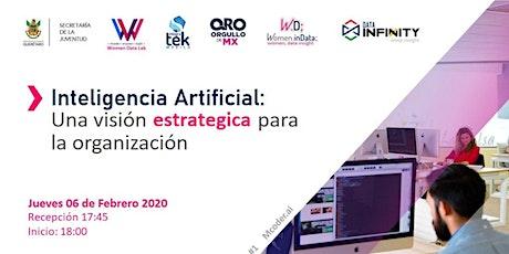 Inteligencia Artificial: una visión estratégica para la organización boletos