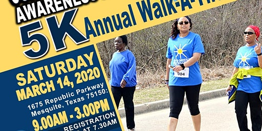 Colorectal Cancer Awareness Month 5K Walkathon