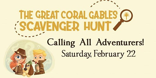 The Great Coral Gables Scavenger Hunt