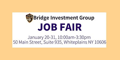 Job Fair-Bridge Investment Group