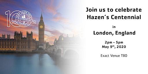 Hazen's Centennial - London, England