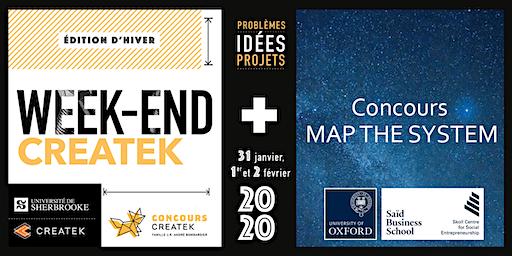 Weekend Createk - Édition hiver 2020
