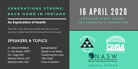 Generations Strong, Back Home in Indiana: An Exploration of Health tickets