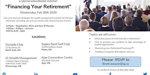Financing Your Retirement