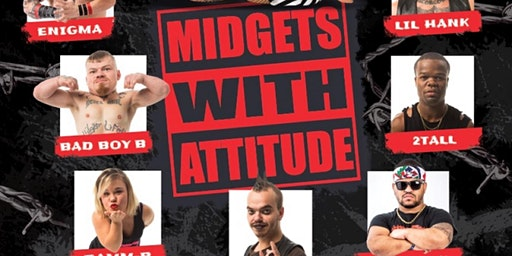 The Return of the Midget Wrestling Show @ Bar XIII