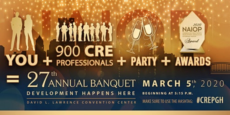 2020 NAIOP Pittsburgh Awards Banquet tickets