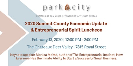 2020 Summit County Economic Update and Entrepreneurial Spirit Luncheon tickets