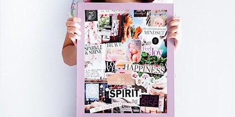 Vision board workshop at Echo Yoga Studio, Lancing, West Sussex on 9th Feb tickets