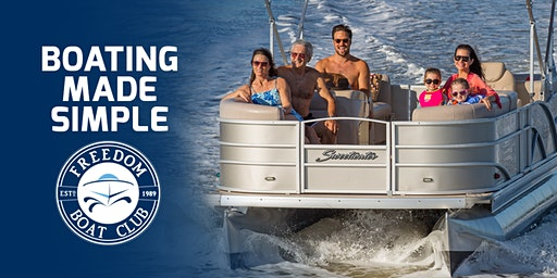 Freedom Boat Club Giveaway at Dallas Boat Show