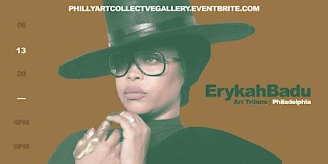 FREE EVENT : Erykah Badu Tribute Art Exhibit tickets