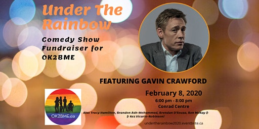 Under the Rainbow: A Comedy Show Fundraiser for OK2BME