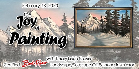 The Joy of Painting with Certified Bob Ross Oil Painting Instructor® Tracey Leigh Crozier tickets