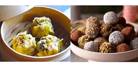 Make Vegan DimSum & Chocolate Truffles @Larry's Market - Love February tickets