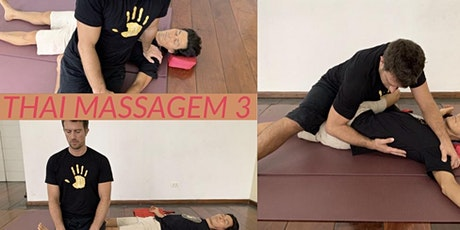 WORKSHOP THAI MASSAGEM 3 ingressos