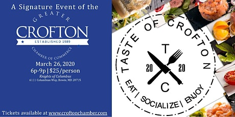 Taste of Crofton 2020 tickets