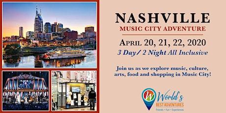 Nashville Music City Adventure tickets