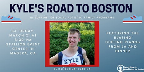 Kyle's Road to the Boston Marathon tickets