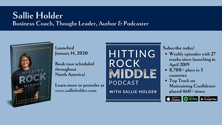 Sallie Holder HITTING ROCK MIDDLE Launch Party image