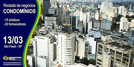 13-03 Rodada de negócios - CONDOMÍNIOS - São Paulo ingressos