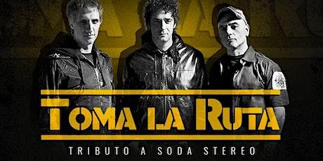 Tributo a Soda Stereo x Toma La Ruta boletos